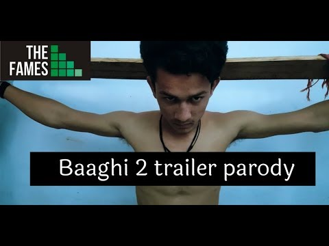 Video Baaghi 2 Official Trailer Parody | Spoof |  Tiger Shroff | Disha Patani | FamesMedia&Productions download in MP3, 3GP, MP4, WEBM, AVI, FLV January 2017