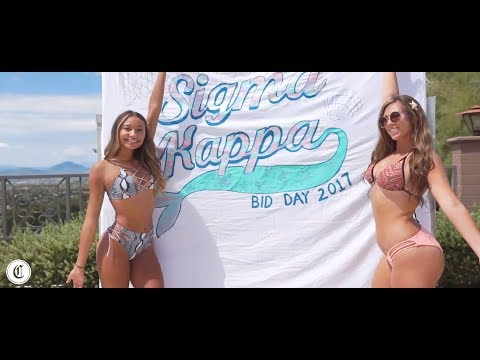 ☀️👙 Arizona Sigma Kappa's Fun in the Sun Bid Day Video 👙☀️