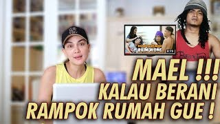 Video LUNA REACTION - KAGET LIAT MAEL RAMPOK RUMAH BAIM WONG DAN PAULA! MAEL KALO BERANI RAMPOK RUMAH GUE! MP3, 3GP, MP4, WEBM, AVI, FLV Juni 2019