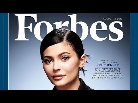 Kylie Jenner Lands FORBES Cover As First Ever Self-Made Billionaire