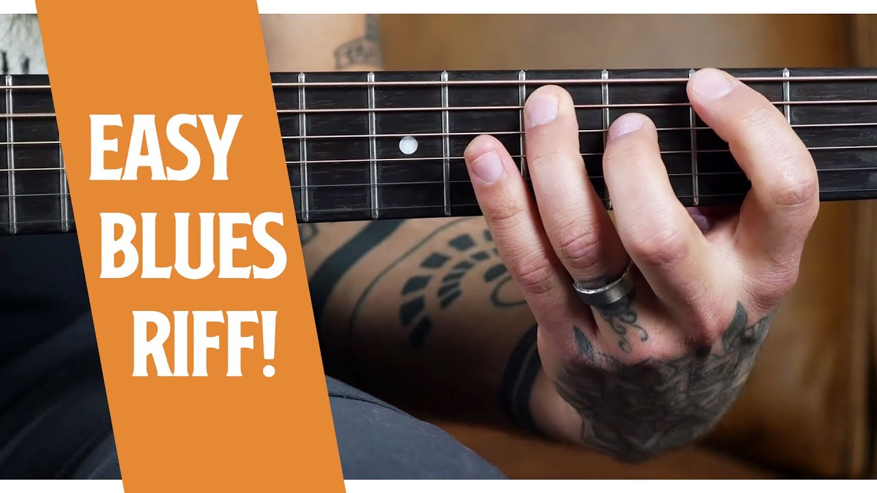 Play Blues On Guitar In Any Key (with this riff)
