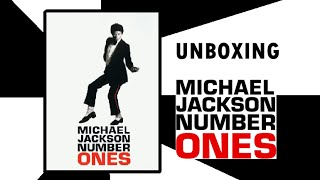 DVD Michael Jackson: NUMBER ONES - UNBOXING