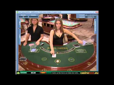 Euro Live Dealer Casino Hold'em Video