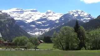 Les Diablerets Switzerland  city photos : Aigle - Les Diablerets Train Ride (SWITZERLAND)