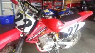 9. 2004 Honda CRF150F