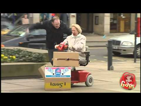 Runaway Wheelchair Prank