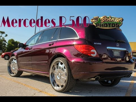 Mercedes- Benz R500 on Asanti Wheels in HD (must see)(Throw Back Footage)