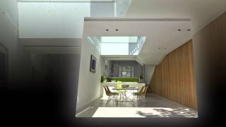 Архитектура дома Islington House от студии Neil Dusheiko Architects