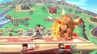 What if Turbo Ryu had no landing lag? (That Smash 4 Modder)