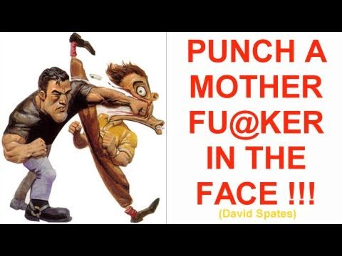 PUNCH A MOTHER FU@KER IN THE FACE ! 😂COMEDY😂 David Spates