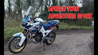 7. Review of the Africa Twin Adventure Sport
