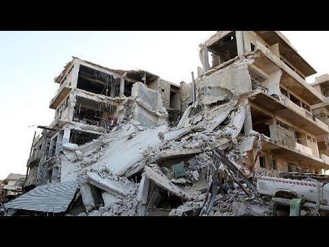Οι βομβαρδισμοί ισοπεδώνουν ό,τι απέμεινε από το Χαλέπι