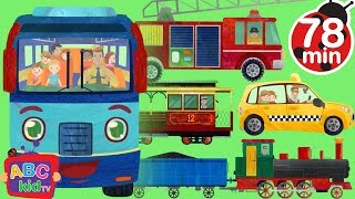 Video Wheels on the Bus and Vehicles | +More Nursery Rhymes & Kids Songs - CoCoMelon MP3, 3GP, MP4, WEBM, AVI, FLV Maret 2019