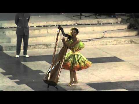 Señorita Arauca Astrid Carolina Arenas Vanegas - Festival Folclorico Colombiano 2012