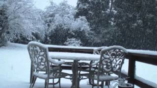 Snow time lapse - Samsung HMX-H300 camcorder