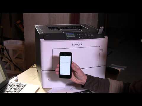 Lexmark MS610DN Laser Printer Review