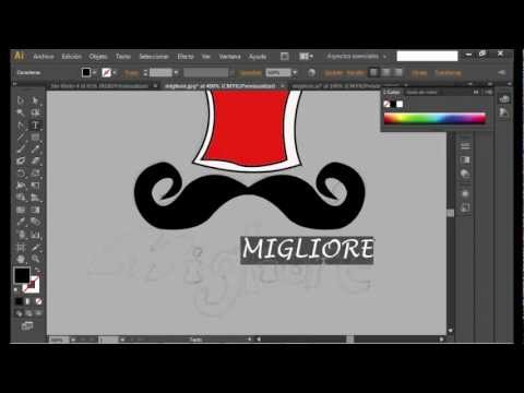 TUTORIAL CREA TU PROPIO LOGOTIPO EN ADOBE ILLUSTRATOR CS6