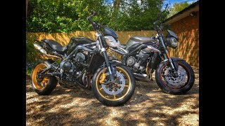 4. Old versus new Street Triple - Comparing the 2017 Street Triple RS with the 2012 Street Triple R