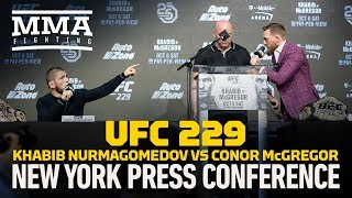 Video Khabib Nurmagomedov vs. Conor McGregor UFC 229 Press Conference - MMA Fighting MP3, 3GP, MP4, WEBM, AVI, FLV Desember 2018