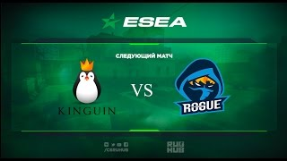 Team Kinguin vs Rogue gg - ESEA Premier - map1 - de_train