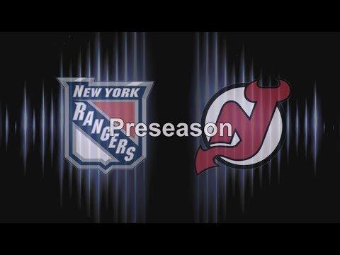 Рейнджерс – Нью-Джерси (21.09.17) Предсезонный турнир Обзор матча....