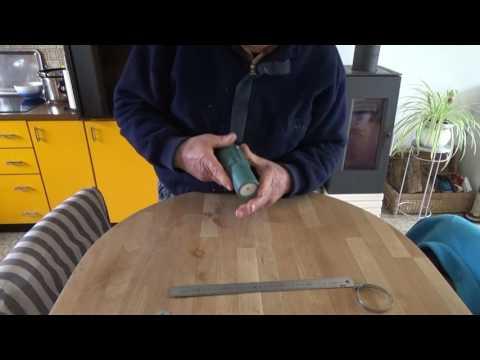 Outil pour fabriquer les pots papier journal