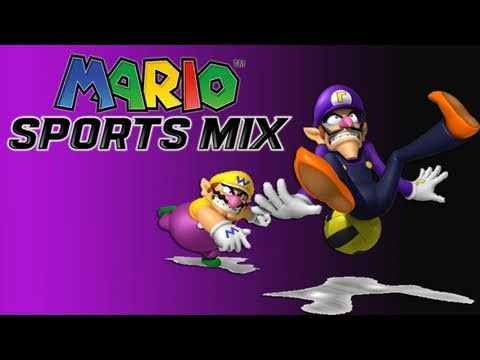 preview-Mario Sports Mix: Dodgeball Gameplay (HD) (Kwings)