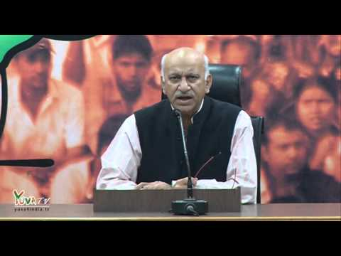 Rahul instead trying to be a leader has become the principal misleader of politics: Shri M. J. Akbar