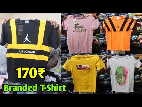 Branded Funky T-Shirt 170₹ with Guarantee    Export Surplus Man's T-shirt    Pune