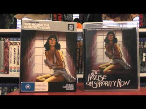 House On Sorority Row Blu Ray (Scorpion Vs Cinema Cult)