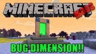 Minecraft Mods - Erebus Bug Dimension Mod