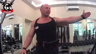 Упражнения для огромной спины