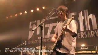 TRY TRY NIICHE 「水面の果て」 @スペースシャワー列伝JAPAN TOUR 2016 赤坂ブリッツ