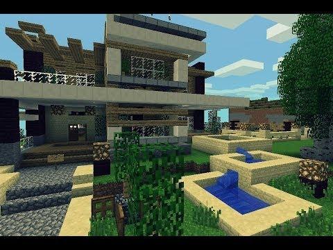 Super casas minecraft videos videos relacionados con for Casa moderna para minecraft pe 0 14 0