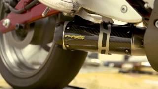 10. Two Brothers Racing - 2006-11 Kawasaki Ninja 650R S1R Slip-on Exhaust System