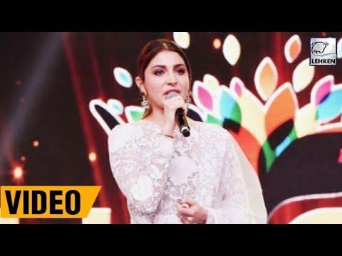 Anushka Sharma's EMOTIONAL Speech At Umang 2018 Wi