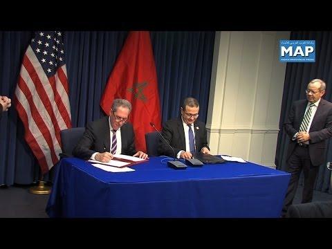المغرب والولايات المتحدة يوقعان بواشنطن اتفاقا لتسهيل التجارة