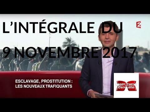 Complément d'enquête. Esclavage, prostitution : les nouveaux trafiquants - 9 nov. 17 (France 2)