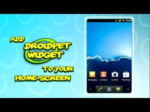 Video of DroidPet Widget
