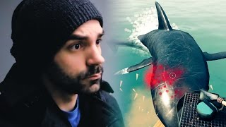 The Shark Bite That Nearly Killed Me :: Raft Gameplay