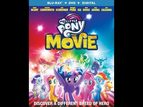My Little Pony: The Movie (2017) - Blu-Ray + DVD +Digital Unboxing