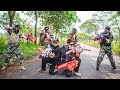 LTT Nerf War : SEAL X Combatant Nerf Guns Taking Mission Fight Dangerous criminals