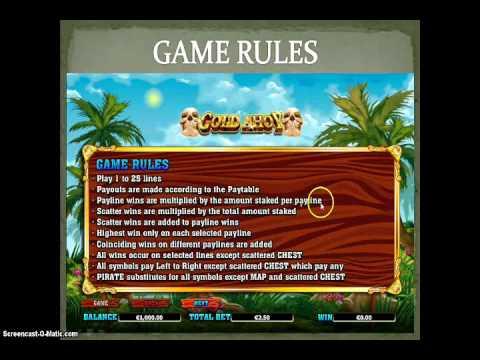 More adventurous Gold Ahoy casino game