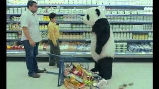 Never Say No To Panda - Supermarket اعلان باندا اعلانات بانده