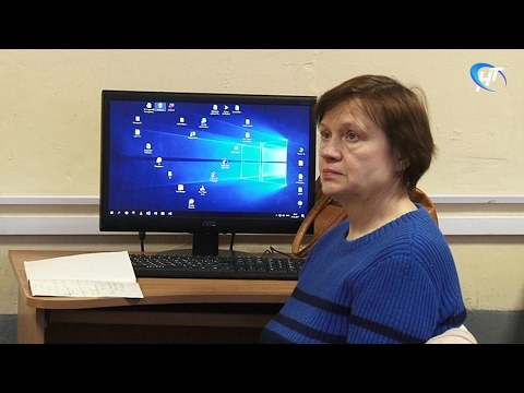 В Политехническом колледже НовГУ начались занятия по компьютерной грамотности для пенсионеров