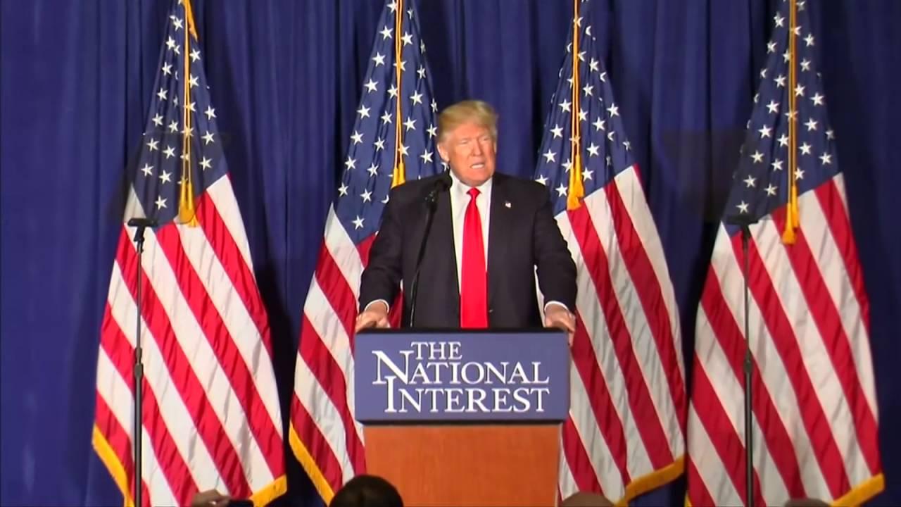 Доналд Трамп го претстави својот план за надворешна политика