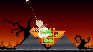 Angry Birds Seasons Walkthrough Trick or Treat 3-5