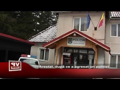 Arestat, dupa ce a agresat un politist