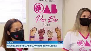 Bauru: projeto que dá  apoio às vítimas de violência doméstica completa 1 ano