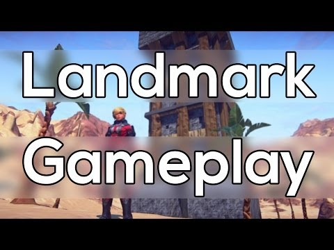 Everquest Landmark Gameplay #3 – Terraforming My Claim  Getting Started